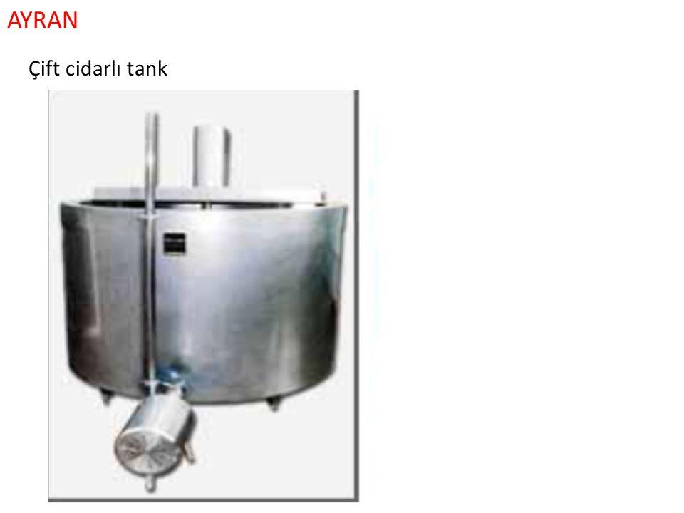 AYRAN Çift cidarlı tank