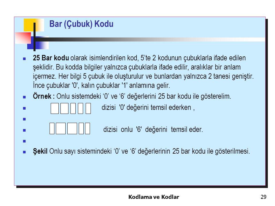 Bar (Çubuk) Kodu