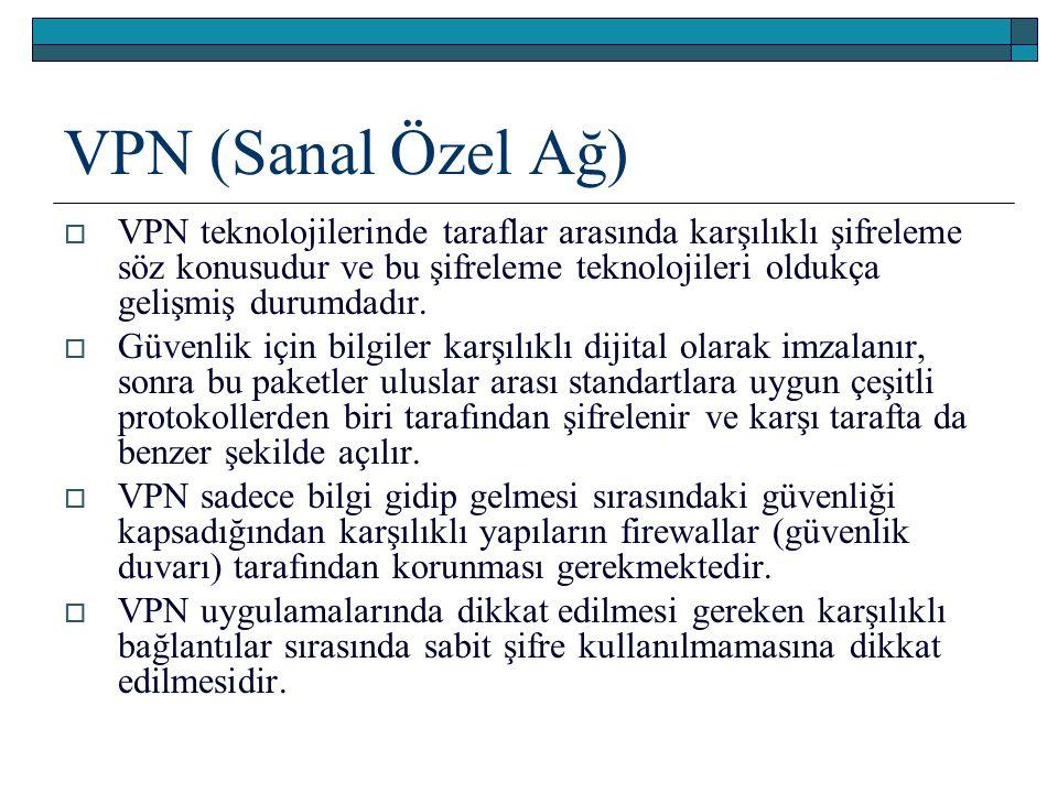 VPN (Sanal Özel Ağ)