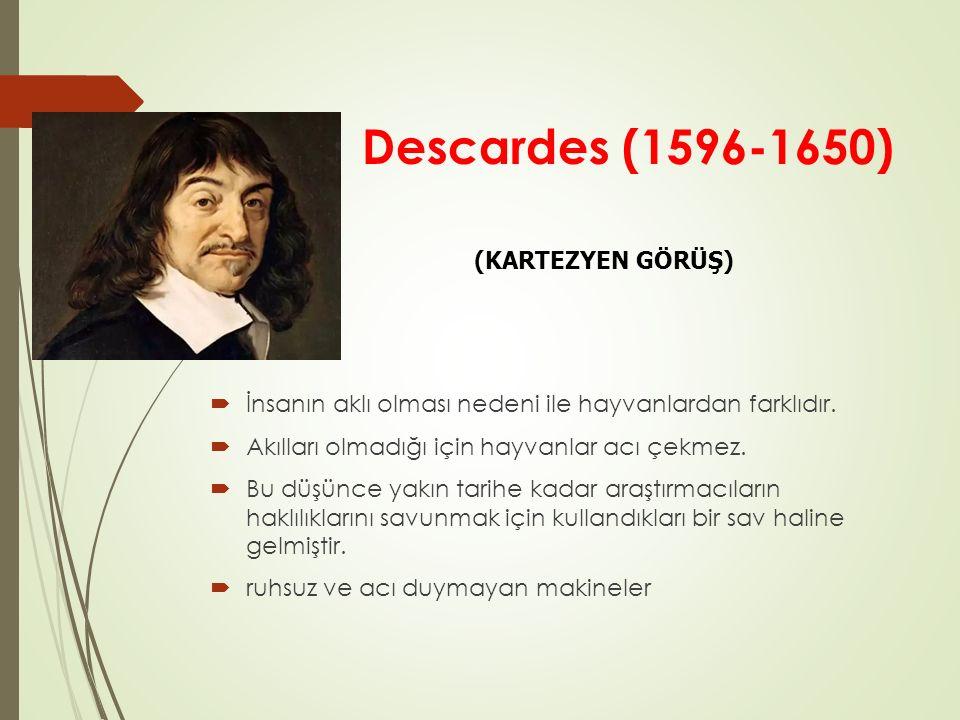 Descardes (1596-1650) (KARTEZYEN GÖRÜŞ)