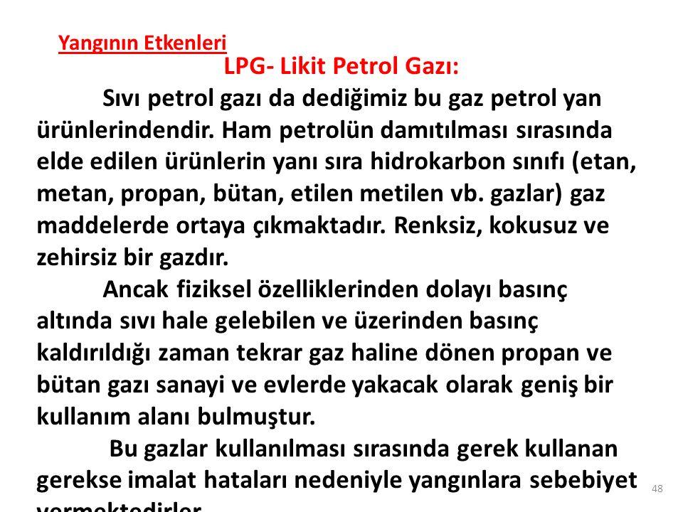 LPG- Likit Petrol Gazı: