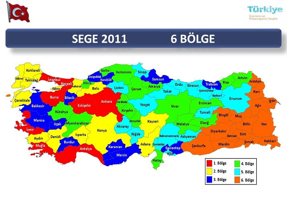 SEGE 2011 6 BÖLGE Bölgesel Harita 4