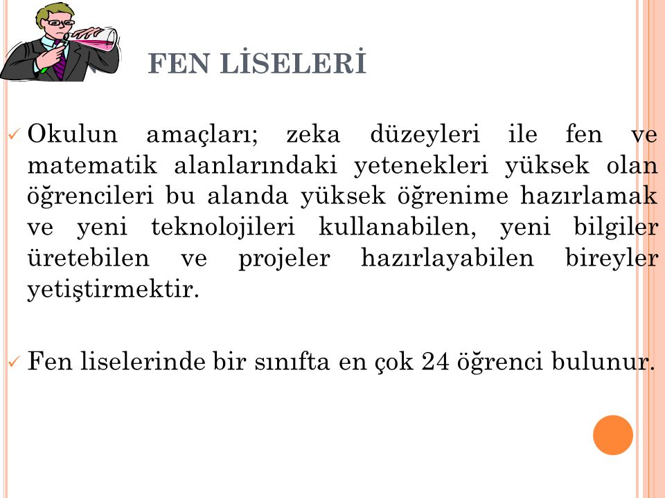 FEN FEN LİSELERİ