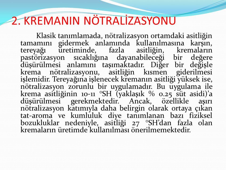 2. KREMANIN NÖTRALİZASYONU