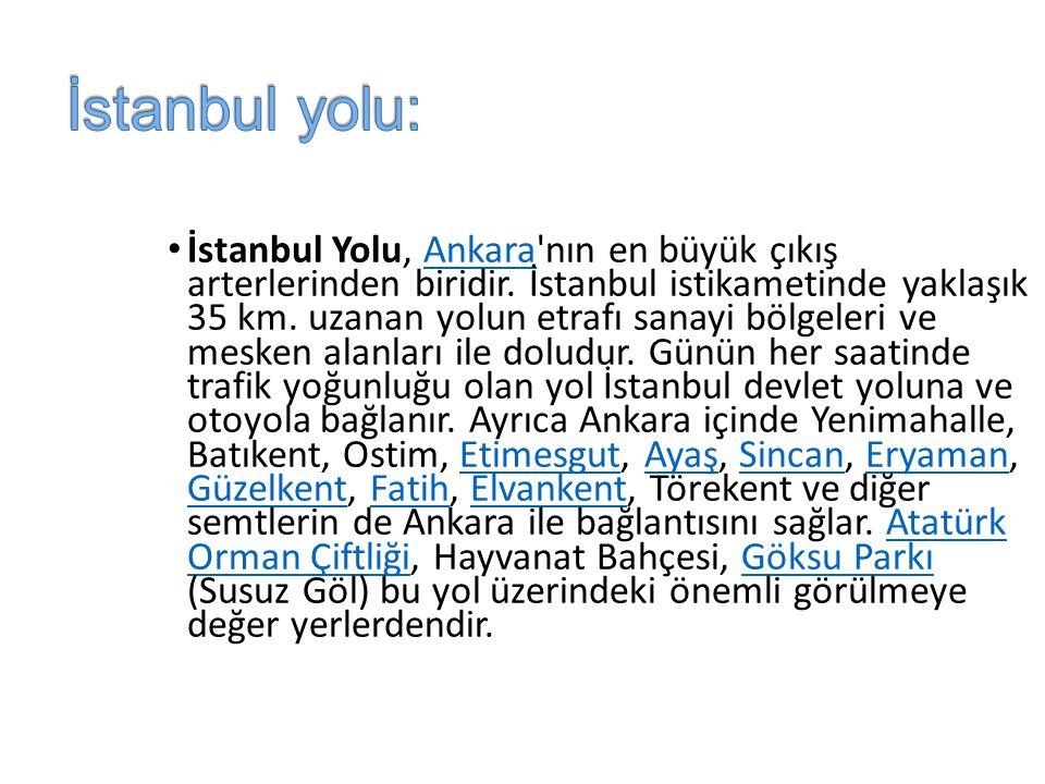 İstanbul yolu: