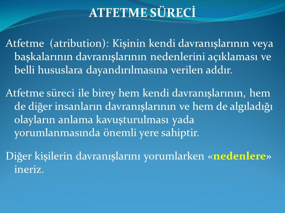 ATFETME SÜRECİ