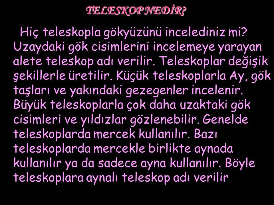 TELESKOP NEDİR