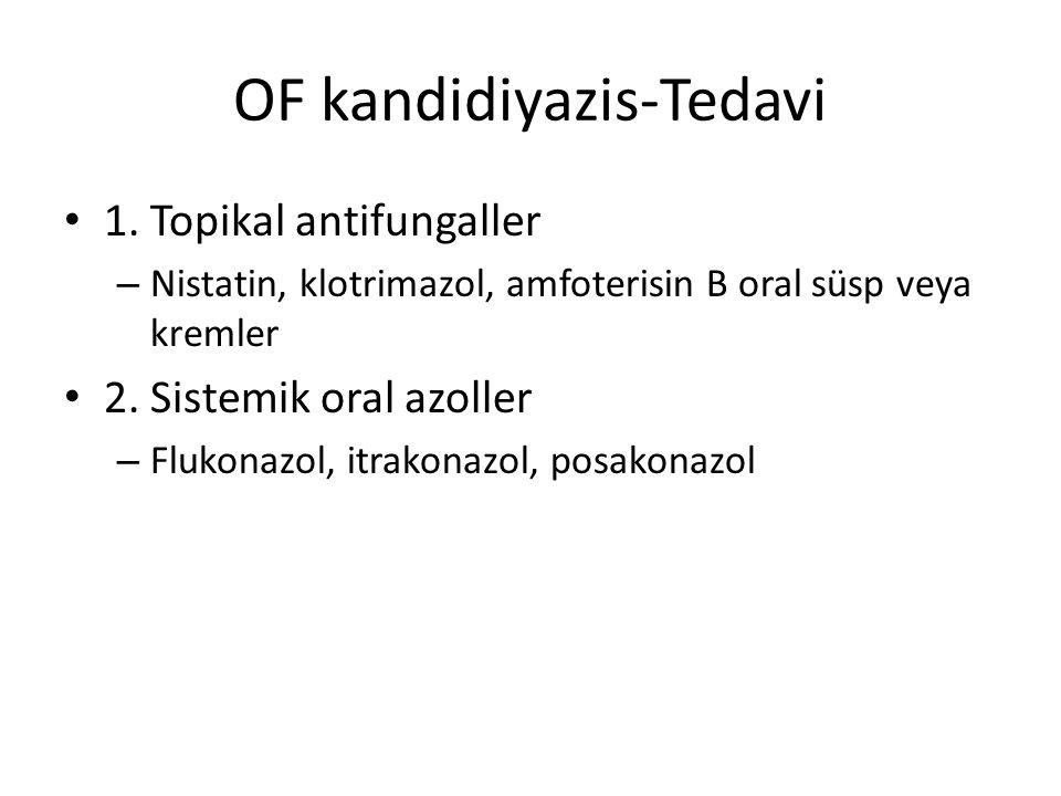 OF kandidiyazis-Tedavi