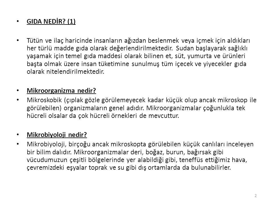 GIDA NEDİR (1)