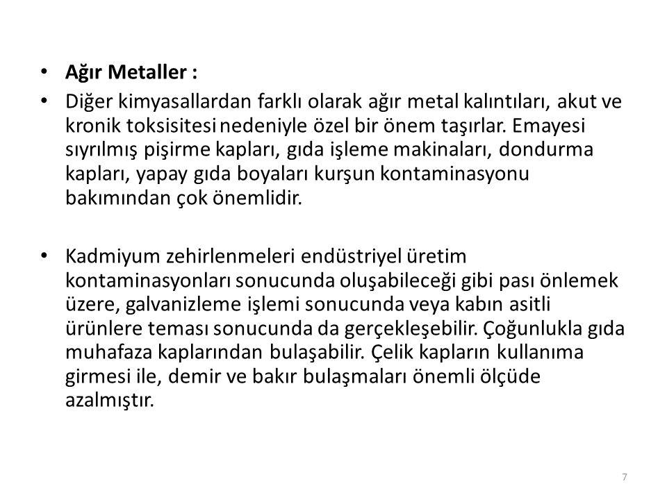 Ağır Metaller :
