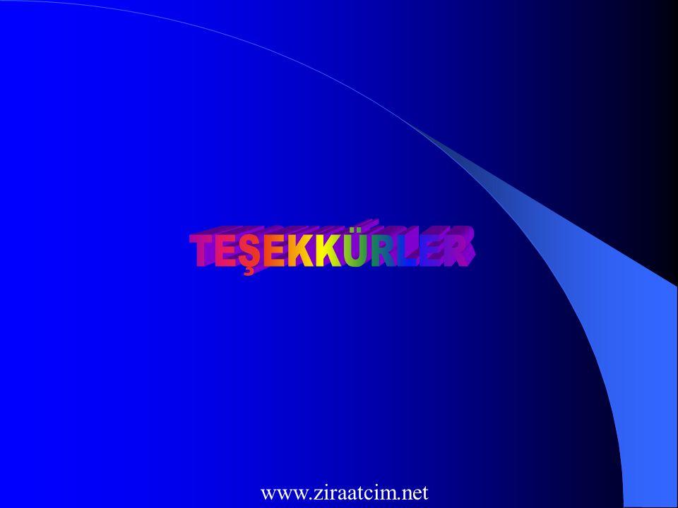 TEŞEKKÜRLER www.ziraatcim.net
