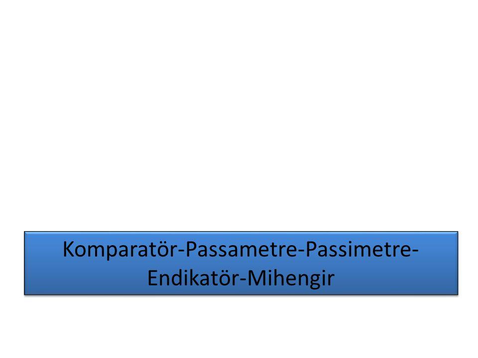 Komparatör-Passametre-Passimetre-Endikatör-Mihengir
