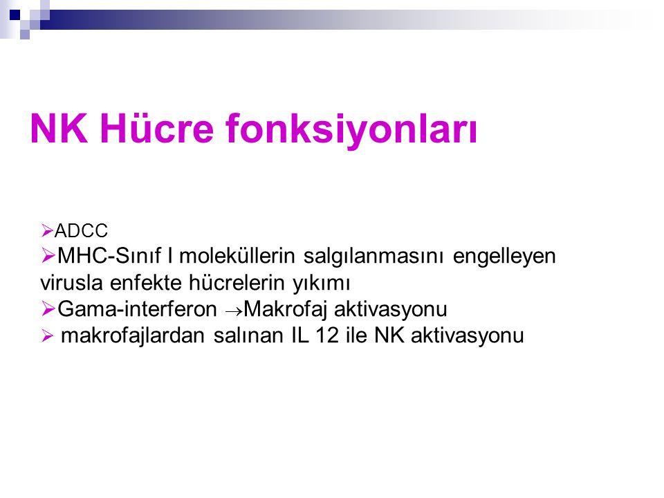 NK Hücre fonksiyonları