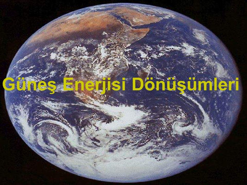Güneş Enerjisi Dönüşümleri