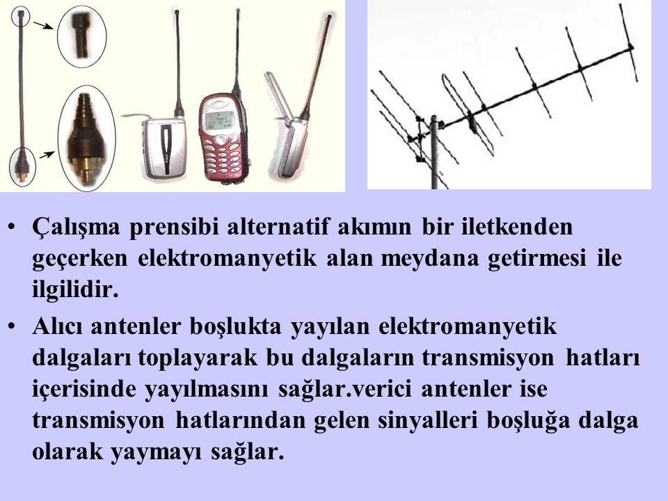 Çalışma prensibi alternatif akımın bir iletkenden geçerken elektromanyetik alan meydana getirmesi ile ilgilidir.
