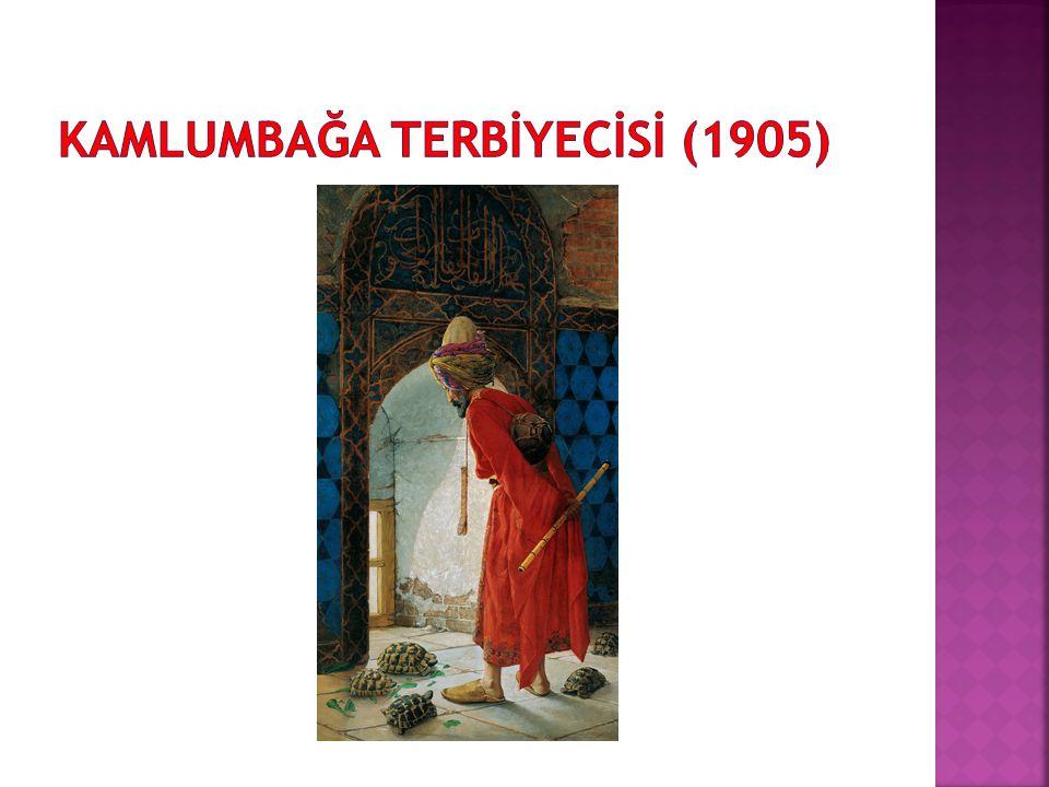 KAMLUMBAĞA TERBİYECİSİ (1905)