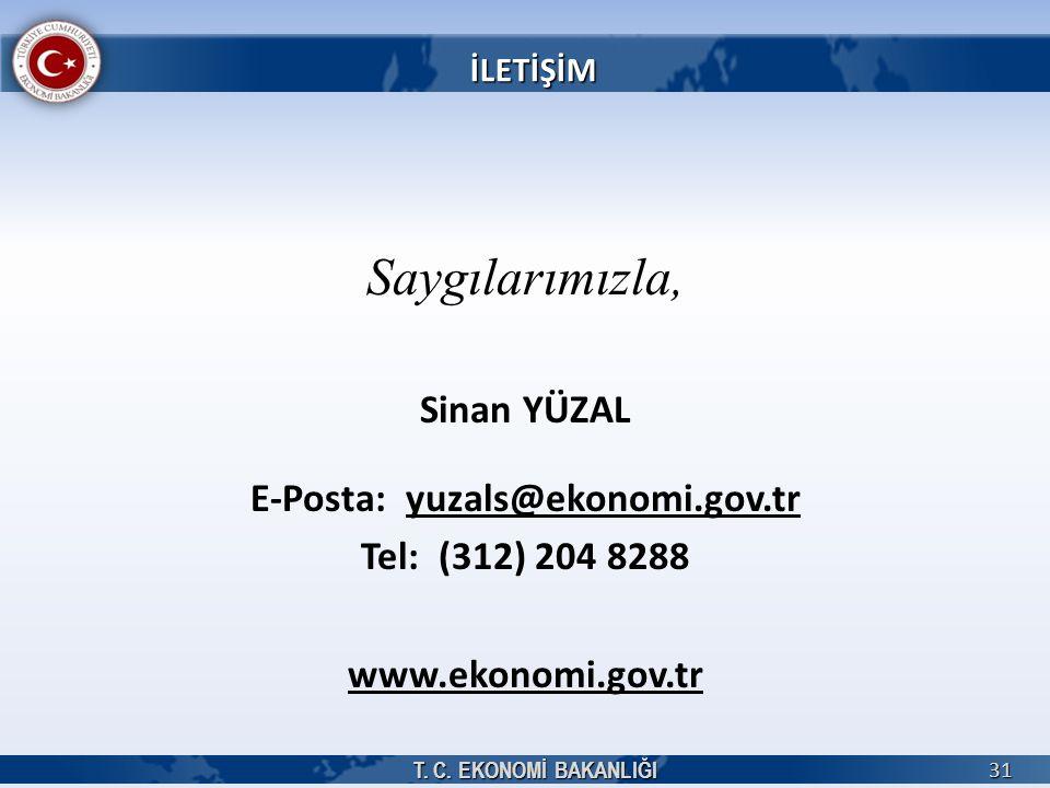 E-Posta: yuzals@ekonomi.gov.tr