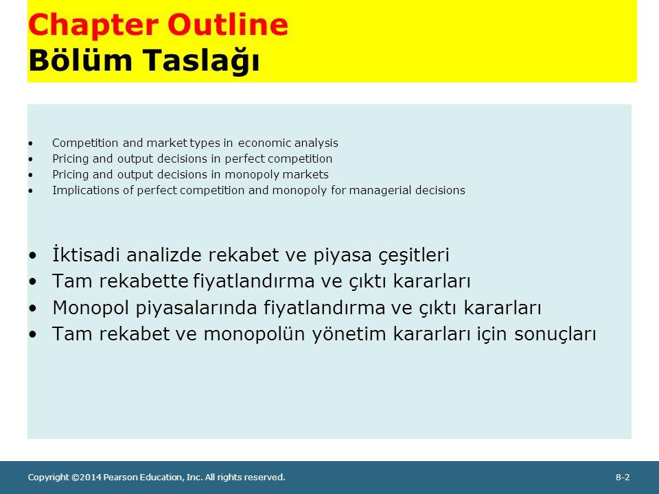 Chapter Outline Bölüm Taslağı