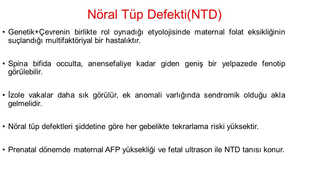 Nöral Tüp Defekti(NTD)