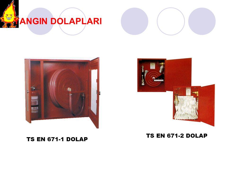YANGIN DOLAPLARI TS EN 671-2 DOLAP TS EN 671-1 DOLAP