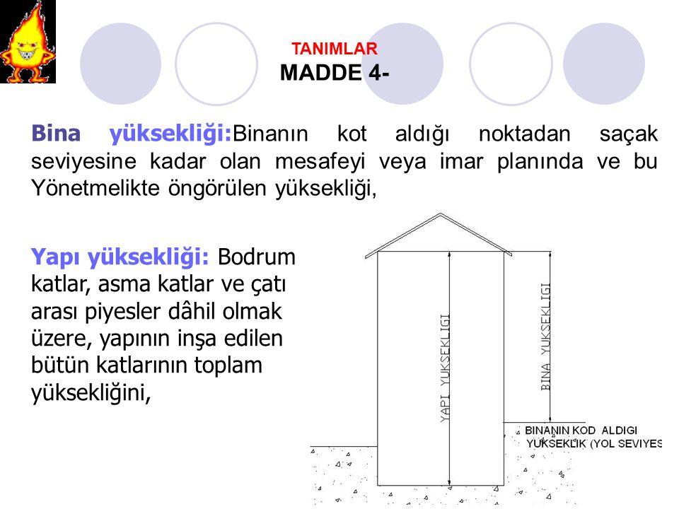 TANIMLAR MADDE 4-