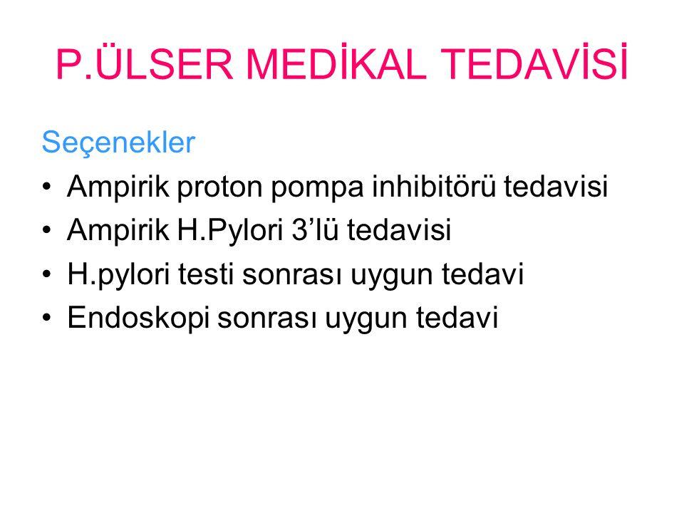 P.ÜLSER MEDİKAL TEDAVİSİ