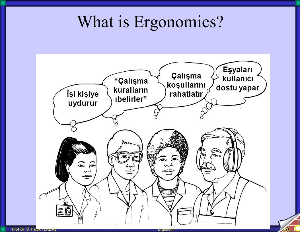 What is Ergonomics Eşyaları kullanıcı dostu yapar