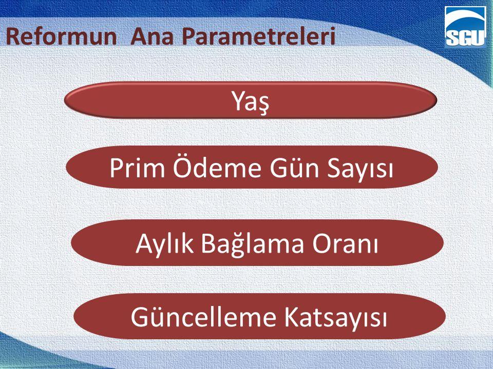 Reformun Ana Parametreleri