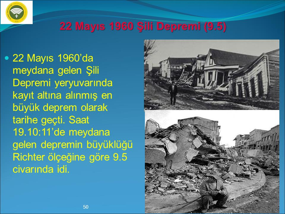 22 Mayıs 1960 Şili Depremi (9.5)
