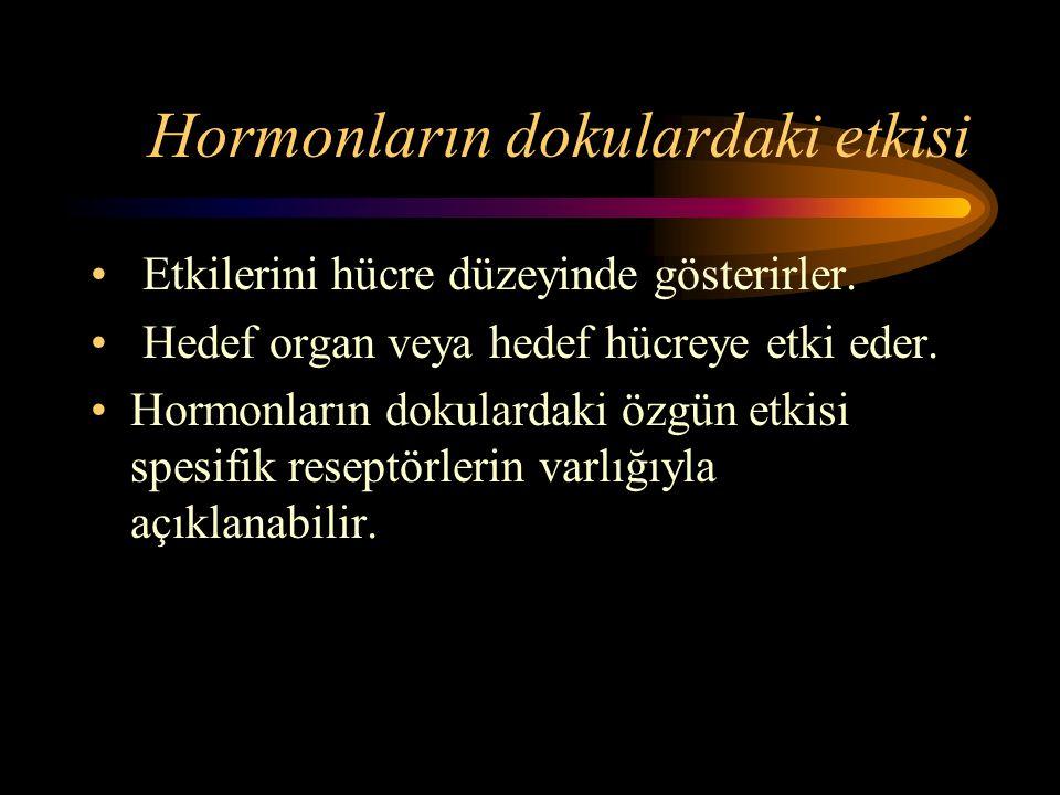 Hormonların dokulardaki etkisi