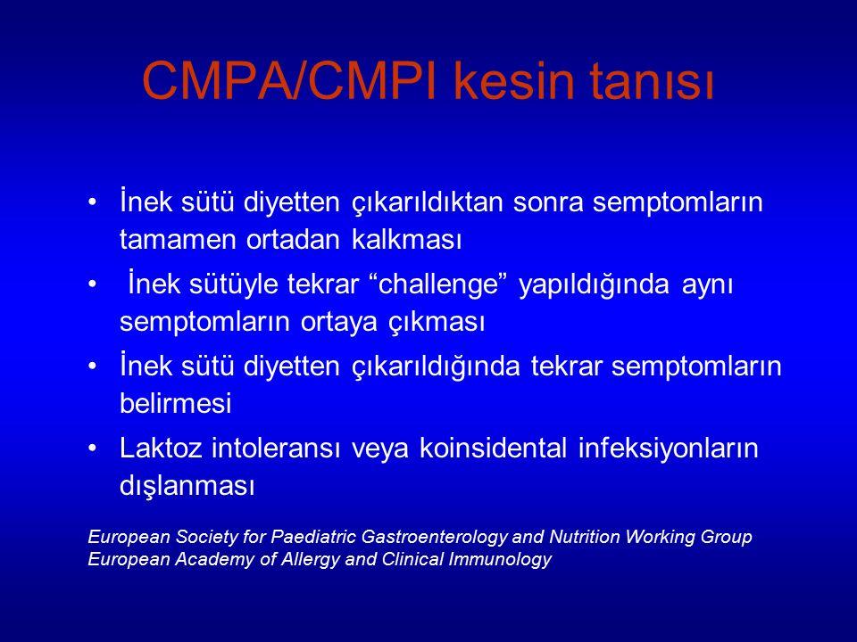 CMPA/CMPI kesin tanısı