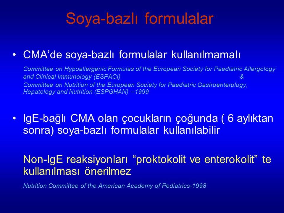 Soya-bazlı formulalar
