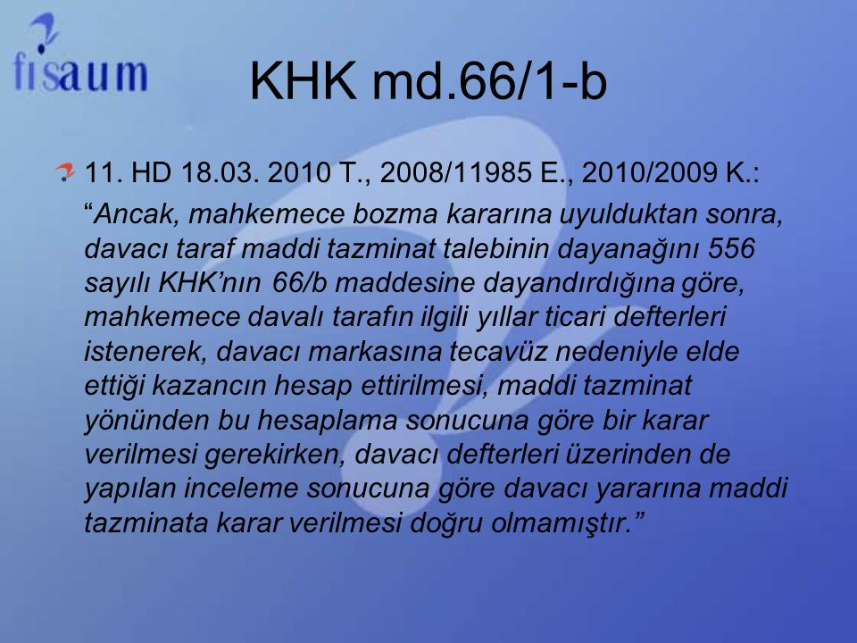 KHK md.66/1-b 11. HD 18.03. 2010 T., 2008/11985 E., 2010/2009 K.: