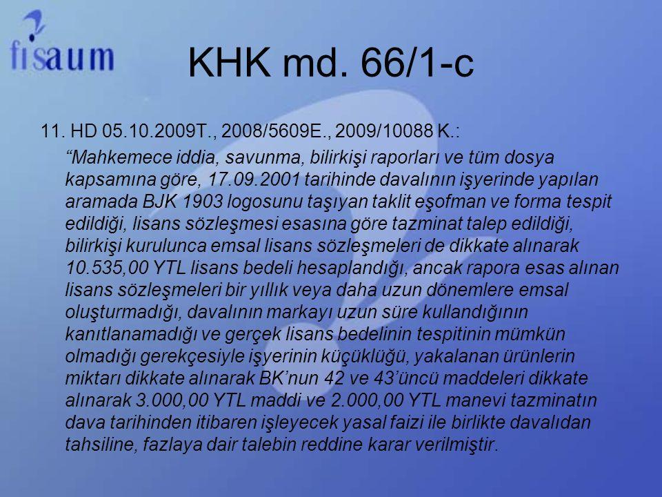 KHK md. 66/1-c
