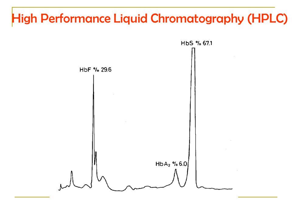 High Performance Liquid Chromatography (HPLC)
