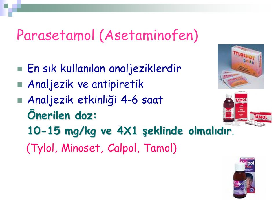 Parasetamol (Asetaminofen)