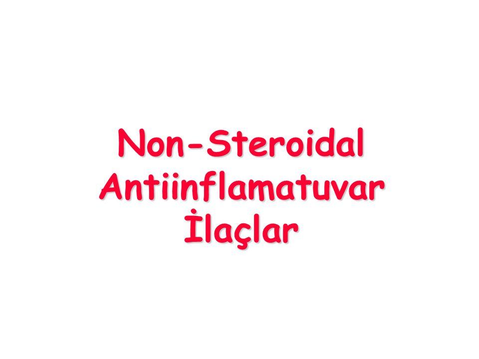Non-Steroidal Antiinflamatuvar İlaçlar