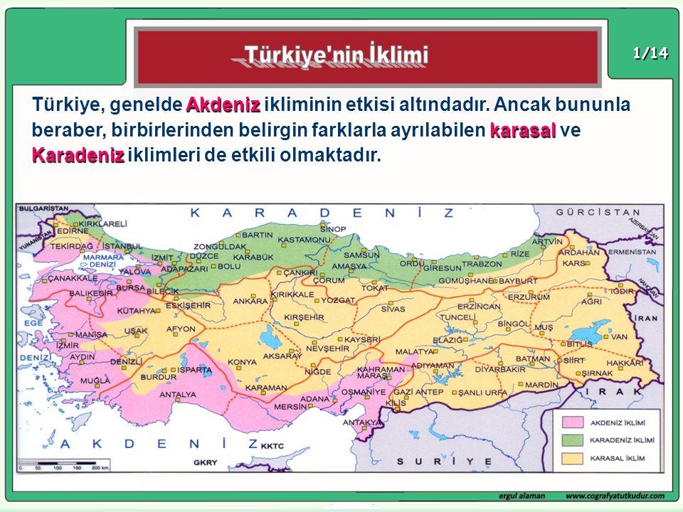 Türkiye nin İklimi