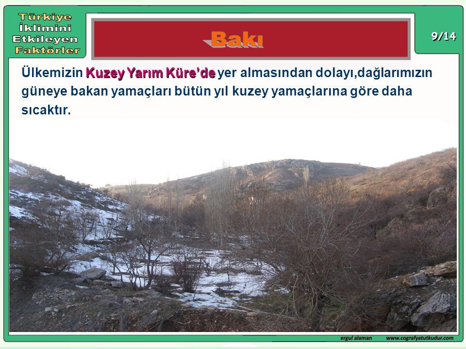 Türkiye İklimini Etkileyen Faktörler Bakı