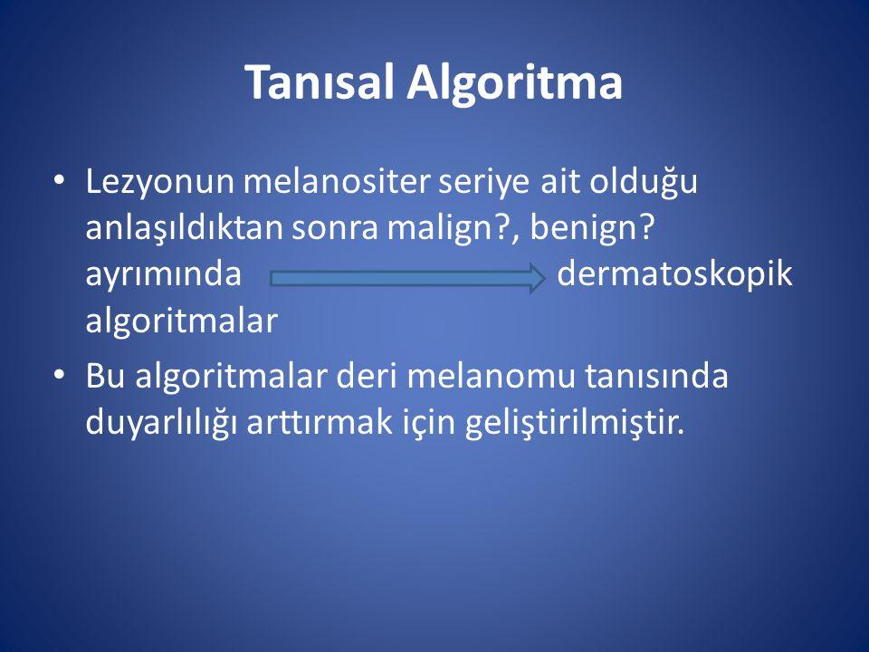 Tanısal Algoritma