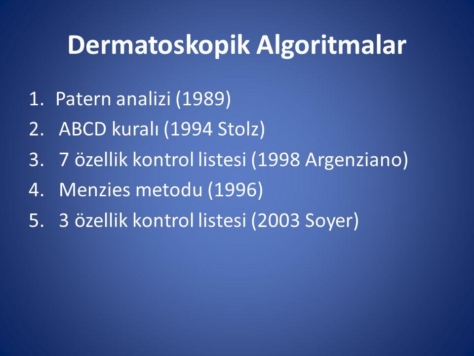 Dermatoskopik Algoritmalar