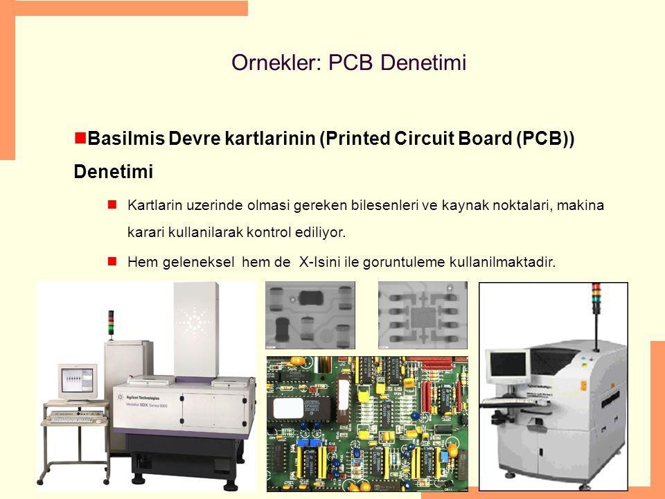 Ornekler: PCB Denetimi