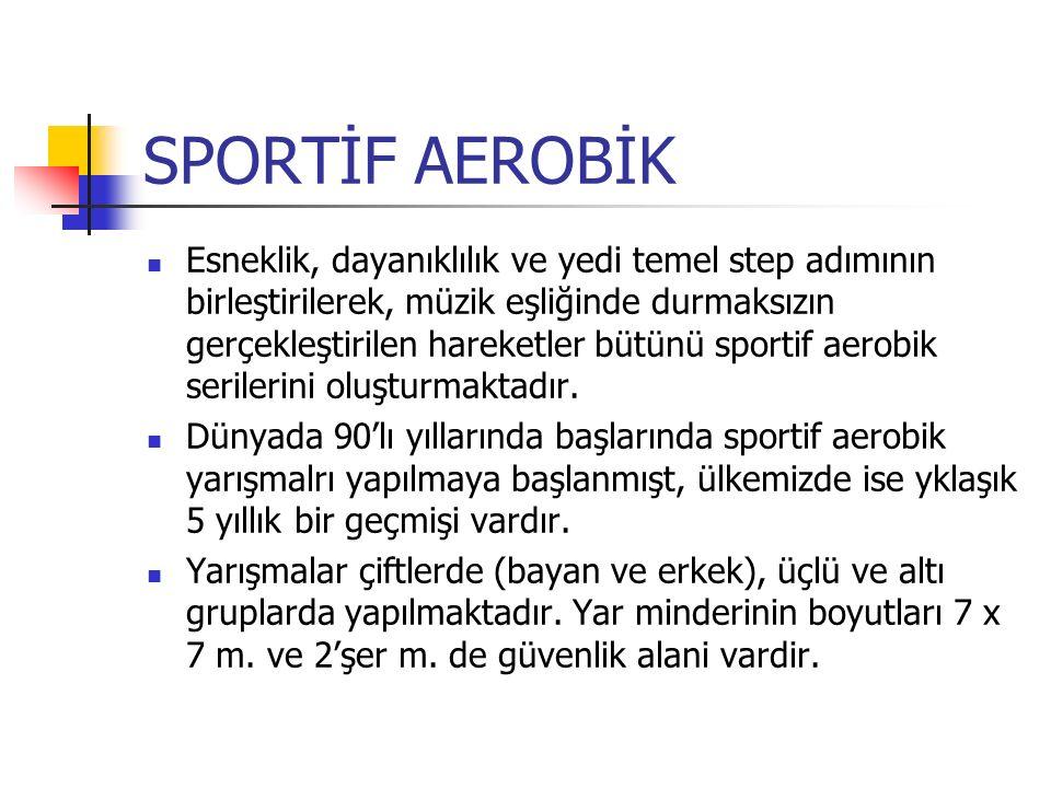 SPORTİF AEROBİK