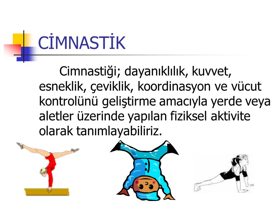 CİMNASTİK