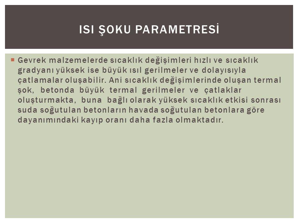 IsI Şoku Parametresİ