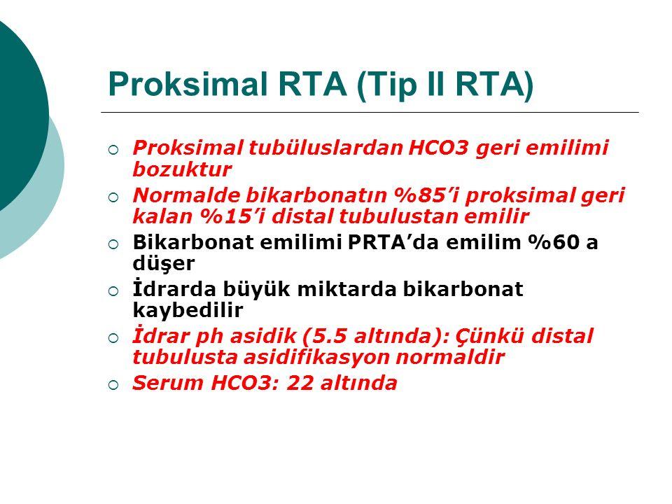 Proksimal RTA (Tip II RTA)
