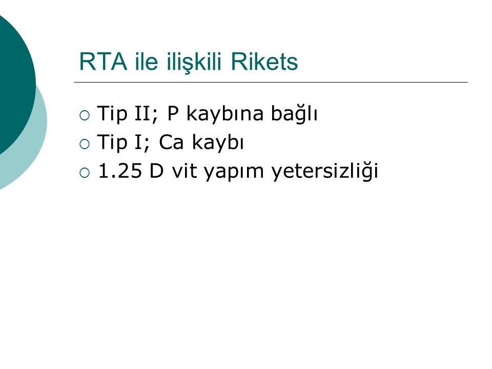 RTA ile ilişkili Rikets
