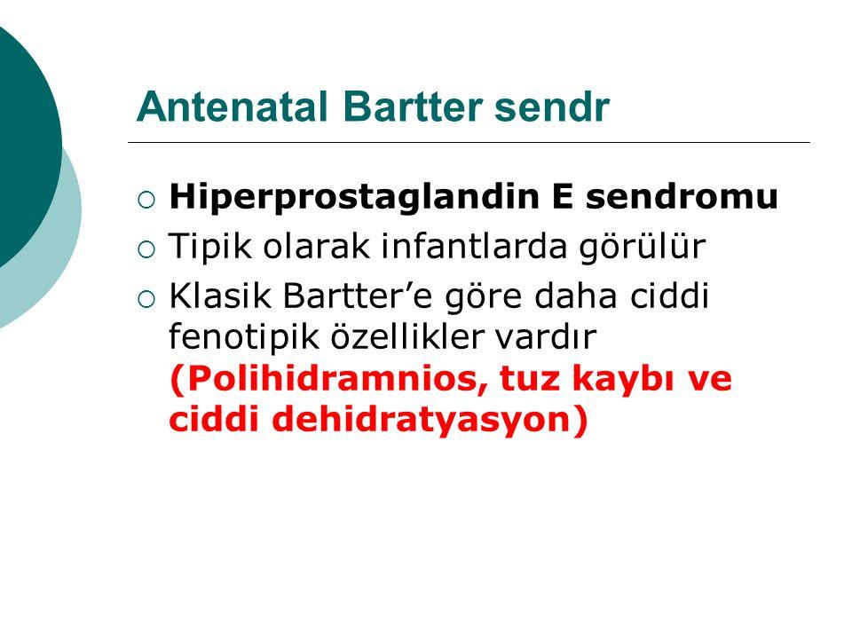 Antenatal Bartter sendr