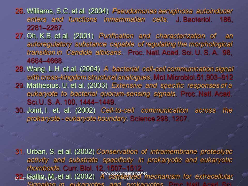 www.quorumsensing.net Kasım_2005