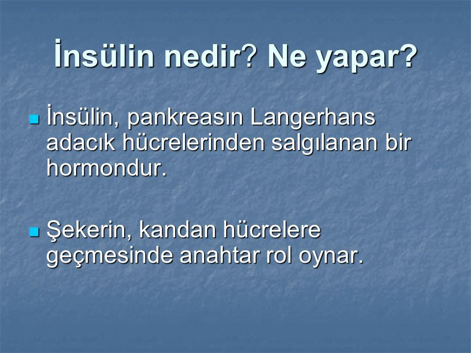 İnsülin nedir Ne yapar İnsülin, pankreasın Langerhans adacık hücrelerinden salgılanan bir hormondur.